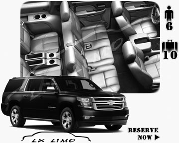 SUV Suburban for hire in Austin